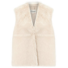Buy Somerset by Alice Temperley Faux Fur Gilet Online at johnlewis.com