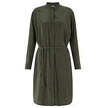Buy Samsoe & Samsoe Bristo Belted Shirt Dress, Rosin Online at johnlewis.com
