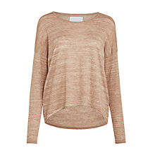 Buy Samsoe & Samsoe Kally Oversized Jumper, Burro Melange Online at johnlewis.com