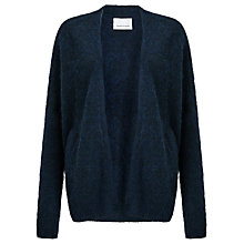 Buy Samsoe & Samsoe Takatsu Cardigan, Dark Blue Melange Online at johnlewis.com