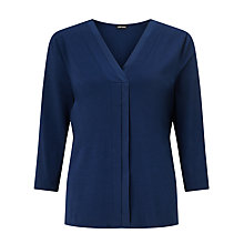Buy Gerry Weber Pleat Detail Top Online at johnlewis.com
