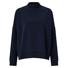 Buy Samsoe & Samsoe Volund Oversized Jumper, Dark Sapphire Online at johnlewis.com