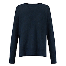 Buy Samsoe & Samsoe Christel Jumper, Dark Blue Melange Online at johnlewis.com