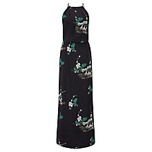 Buy Samsoe & Samsoe Willow Lace Back Japanese Print Dress, Hana Dark Online at johnlewis.com