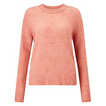 Buy Samsoe & Samsoe Lauri O-Neck Jumper, Flower Mel Online at johnlewis.com