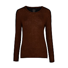 Buy Marc Cain Two Tone Jumper, Coffee Online at johnlewis.com