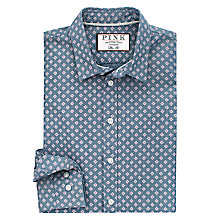 Buy Thomas Pink Skinner Print Slim Fit Shirt, Blue/Pink Online at johnlewis.com