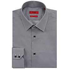 Buy HUGO by Hugo Boss C-Enzo Pattern Regular Fit Shirt, Navy Online at johnlewis.com