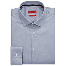 Buy HUGO by Hugo Boss C-Joey Semi Plain Slim Fit Shirt, Open Blue Online at johnlewis.com