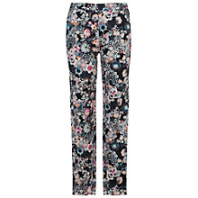 Buy French Connection Isola Bloom Cropped Trousers, Black Online at johnlewis.com