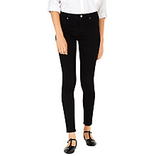 Buy Warehouse Second Skin Jeans, Black Online at johnlewis.com