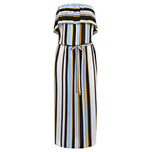 Buy Oasis Stripe Bardot Dress, Multi Online at johnlewis.com