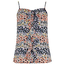 Buy Oasis Ditsy Frill Cami Top, Multi Online at johnlewis.com