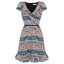 Buy Oasis Ditsy Frill Dress, Multi Online at johnlewis.com