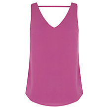 Buy Oasis Scoop Front And Back Vest Online at johnlewis.com