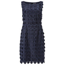 Buy Phase Eight Violetta Circle Lace Dress, Navy Online at johnlewis.com