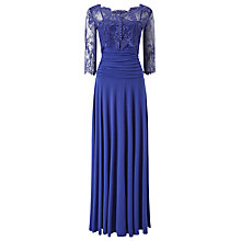 Buy Phase Eight Romily Lace Dress, Violet Blue Online at johnlewis.com