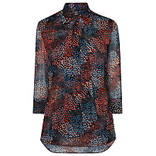 Buy L.K. Bennett Silk Cami Pussybow Blouse, Multi Online at johnlewis.com