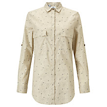 Buy Barbour Heritage Brollie Shirt, Ecru Online at johnlewis.com