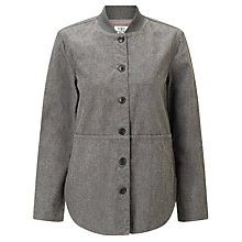 Buy Barbour Heritage Winterdale Overshirt, Grey Melange Online at johnlewis.com
