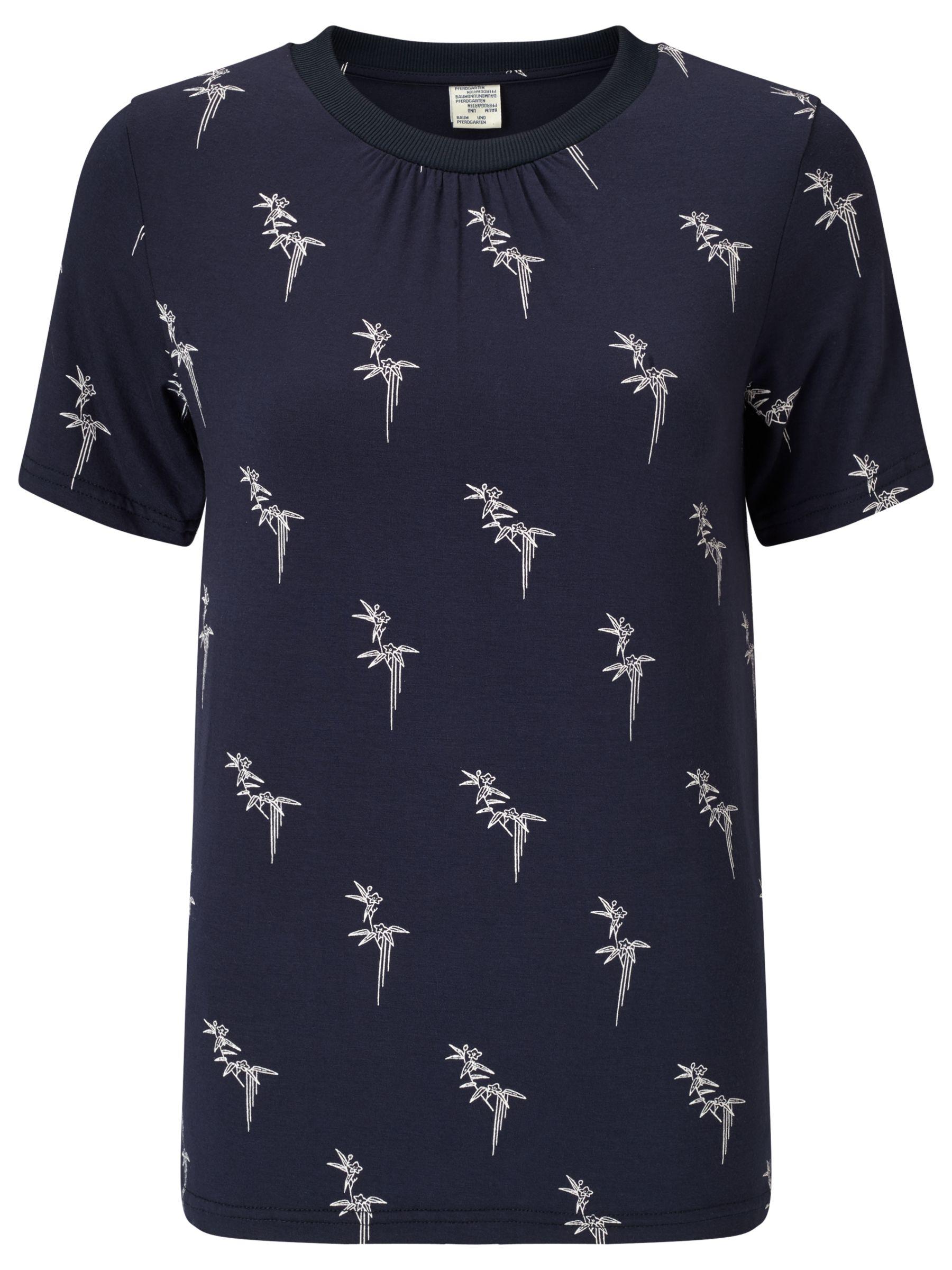 Baum und Pferdgarten Baum und Pferdgarten Eirena T-Shirt, Blue Leaf