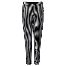 Buy Baum und Pferdgarten Nara Trousers, Cloud Stripe Online at johnlewis.com