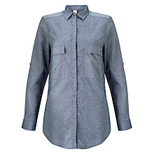 Buy Barbour Heritage Blizzard Shirt, Chambray Online at johnlewis.com