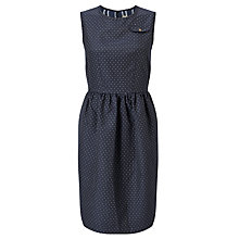 Buy Baum und Pferdgarten Alexina Polka Dot Dress, Jacquard Dots Online at johnlewis.com