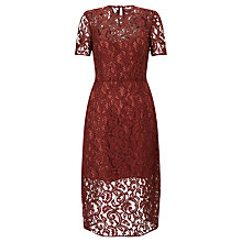 Buy Baum und Pferdgarten Adie Lace Dress, Syrah Online at johnlewis.com