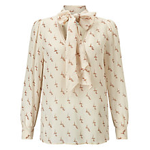 Buy Baum und Pferdgarten Maiya Blouse, Ginger Leaf Online at johnlewis.com