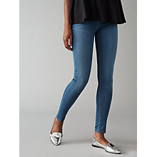 Buy Waven Asa Classic Skinny Jeans, Erasure Blue Online at johnlewis.com