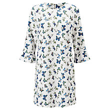 Buy Darling London Bluebell Tunic Dress, Cream Online at johnlewis.com