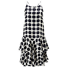 Buy Baum und Pferdgarten Adia Strap Dress, Big Dots Online at johnlewis.com