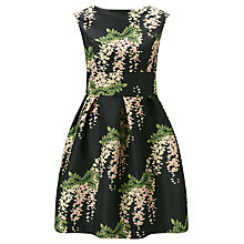 Buy Darling London Jasmine Flared Dress, Forest Green Online at johnlewis.com