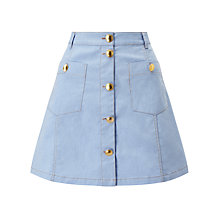 Buy Baum und Pferdgarten Samta Denim Skirt, Dusk Blue Online at johnlewis.com