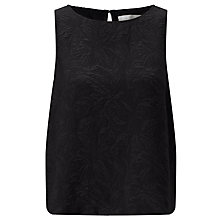 Buy Minimum Francie Top, Black Online at johnlewis.com