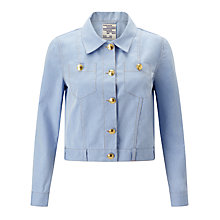 Buy Baum und Pferdgarten Bambi Denim Jacket, Dusk Blue Online at johnlewis.com
