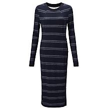 Buy Baum und Pferdgarten Jana Dress, Navy/White Online at johnlewis.com