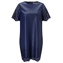 Buy Darling London Niamh Tunic Dress, Navy Online at johnlewis.com