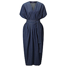Buy Waven Caaren Loose Jumpsuit, Rinse Blue Online at johnlewis.com