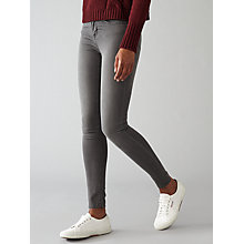 Buy Waven Asa Classic Skinny Jeans, Charcoal Grey Online at johnlewis.com