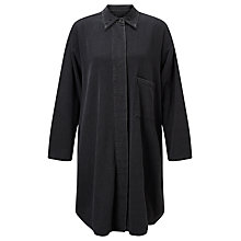 Buy Waven Sigvor Shirt Dress, Vintage Black Online at johnlewis.com
