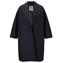 Buy Baum und Pferdgarten Dara Long Dot Jacket, Jacquard Dots Online at johnlewis.com