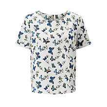 Buy Darling London Bluebell Top, Cream Online at johnlewis.com