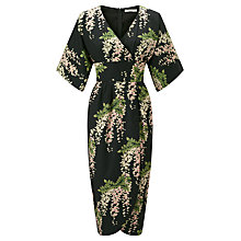 Buy Darling London Jasmin Kimono Dress, Forest Green Online at johnlewis.com