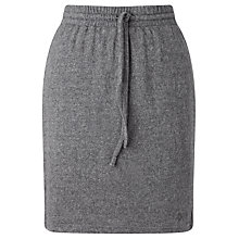 Buy Numph Automatie Drawstring Skirt, Grey Melange Online at johnlewis.com