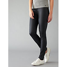 Buy Numph Kentucky Coated Jeans, Caviar Online at johnlewis.com