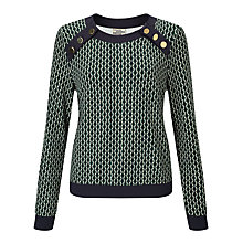 Buy Baum und Pferdgarten Janet Jumper, Green Online at johnlewis.com