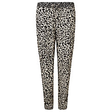 Buy Minimum Marion Printed Trousers, Nude Online at johnlewis.com