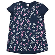 Buy Polarn O. Pyret Girls' Floral Top, Blue Online at johnlewis.com